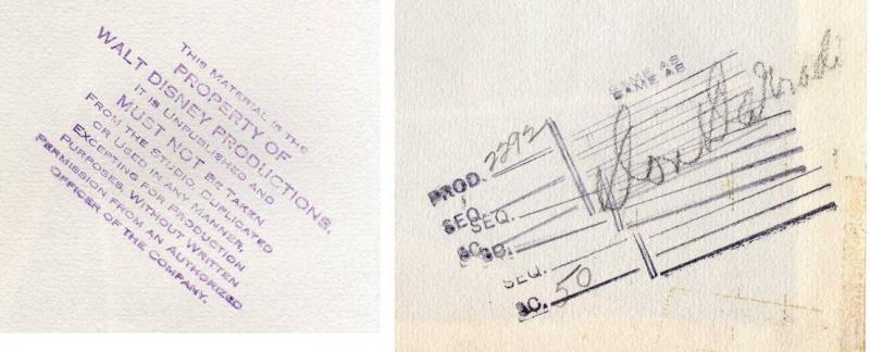 Celluloïd Studio Disney   - Page 2 Certti10