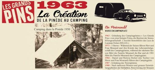 """50 ans d'images du Camping """"Les Grands Pins"""" à Lacanau Ocean 15347_10"""