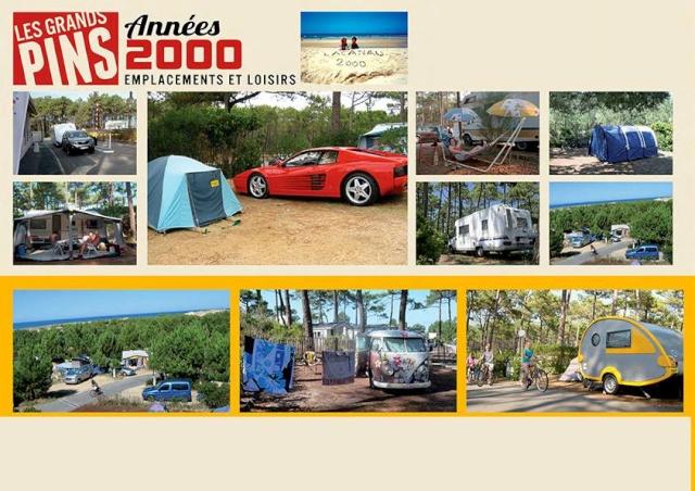 """50 ans d'images du Camping """"Les Grands Pins"""" à Lacanau Ocean 54221610"""