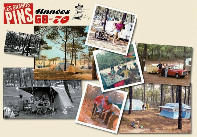 """50 ans d'images du Camping """"Les Grands Pins"""" à Lacanau Ocean 99398410"""