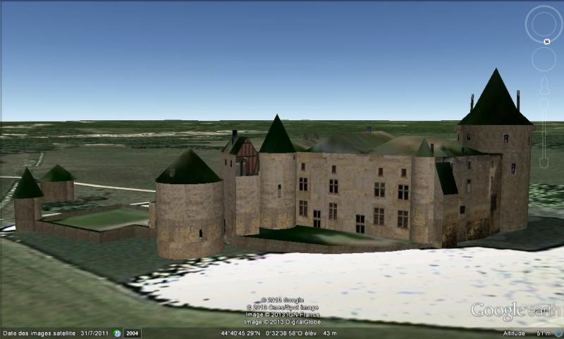 """Maisons natales des """"grandes figures"""" repérées dans Google Earth - Page 7 3d11"""