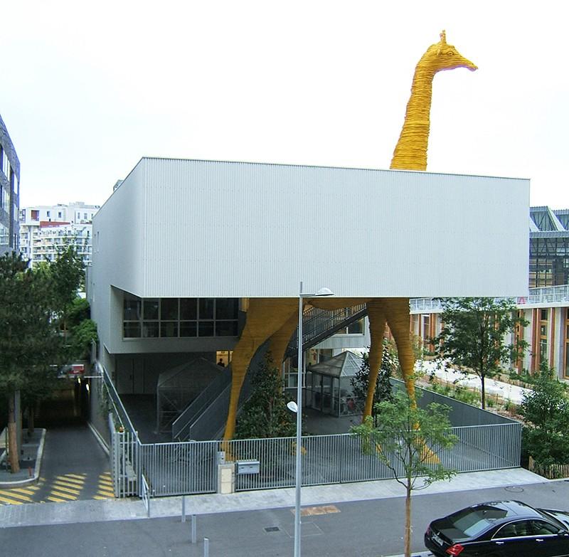 Crèche-Girafe - Boulogne Billancourt - Hauts de Seine - France 81105010