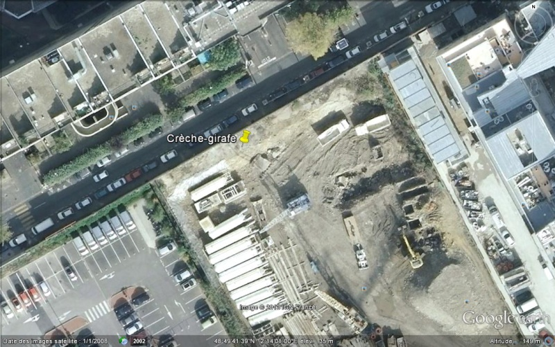 Crèche-Girafe - Boulogne Billancourt - Hauts de Seine - France Ge_cra10