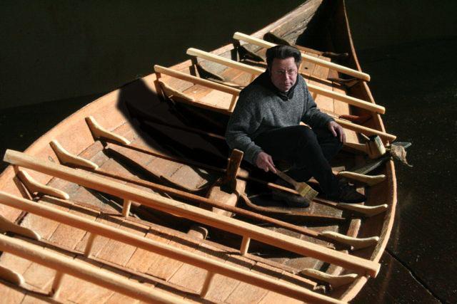 Wikingerschiff Skuldelev 3 / Teil I - Seite 2 Baenke11