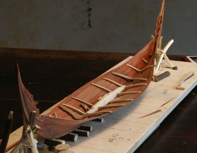 Wikingerschiff Skuldelev 3 / Teil I Spannt10