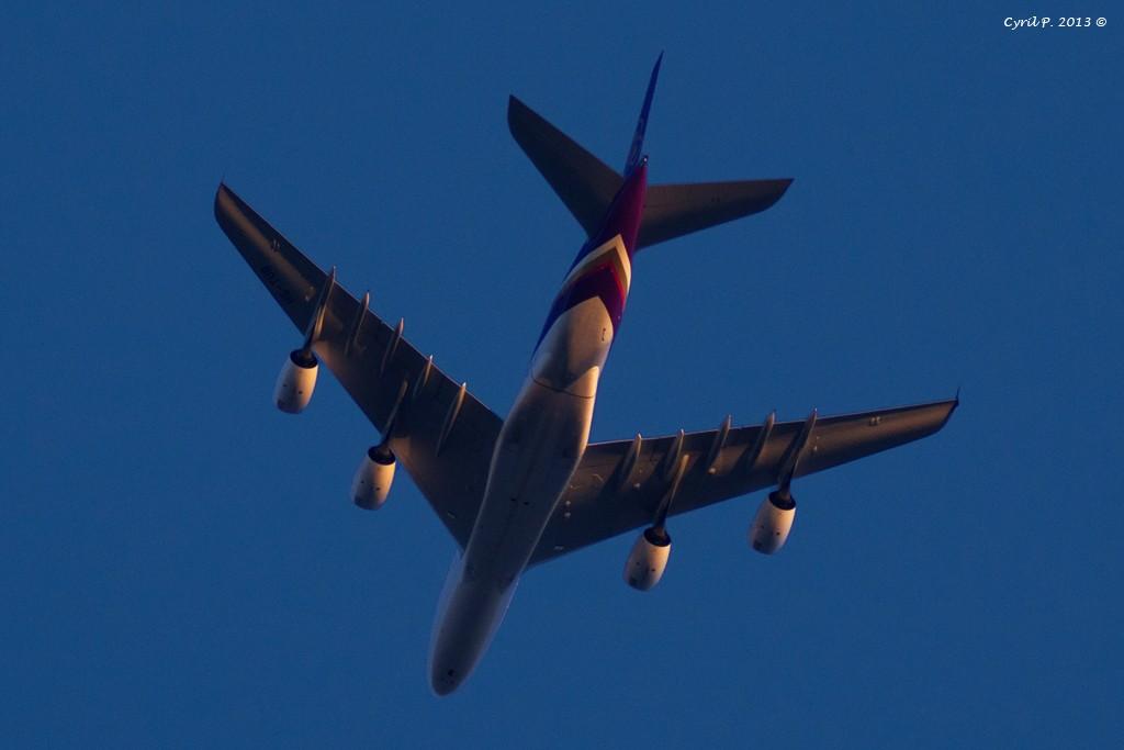 Avions en vols pour CDG à la lunette astronomique Img_0910