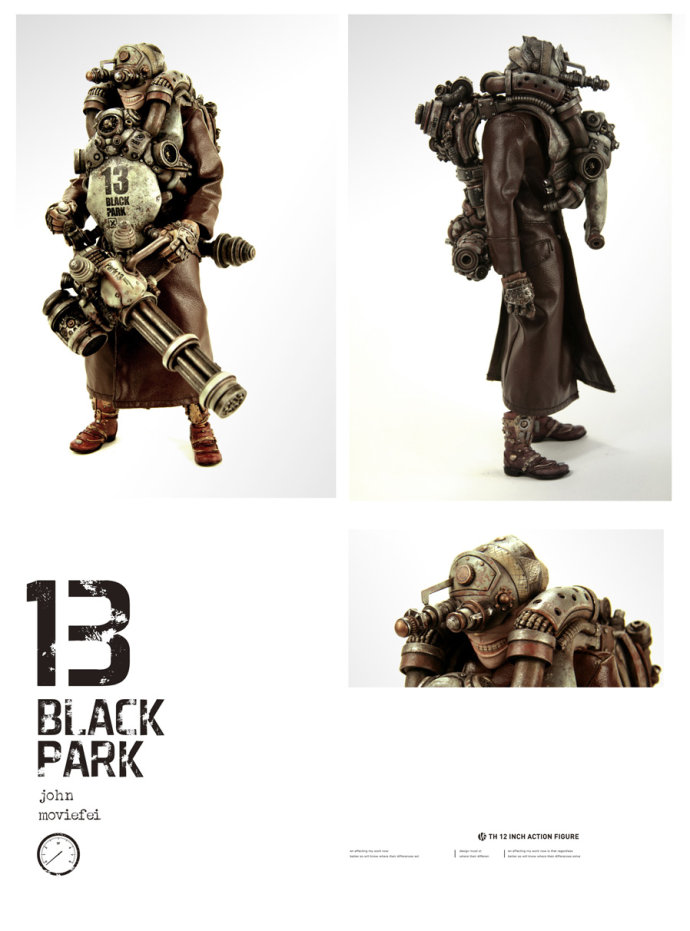 Epic handmade figure by Black 13 Park C10ed311
