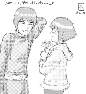 Rock Lee x Hinata Leehin12