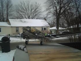 Flymodel C-47 Skytrain 1/33 scale Bth_pi30