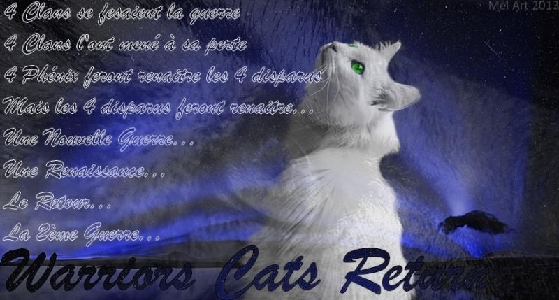 Warriors Cats Return