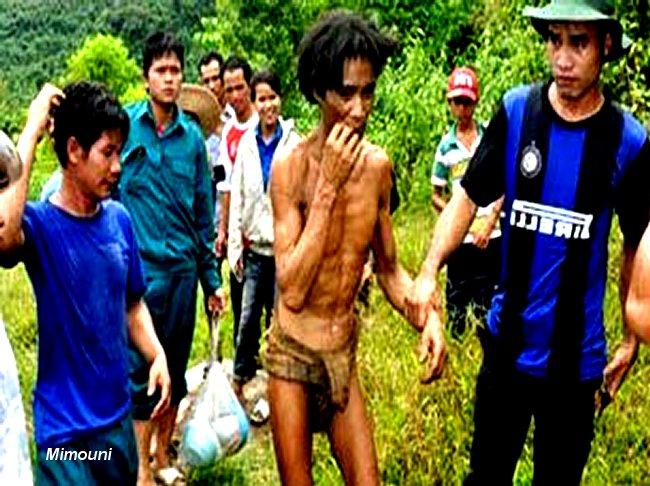 Decouverte de 2 personnes vivant en foret Viet depuis 41 ans Mimoun11