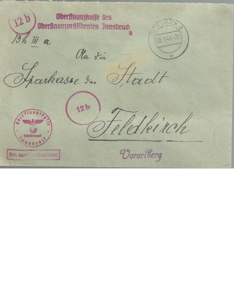 Briefe / Poststücke österreichischer Banken - Seite 2 Bankbe10