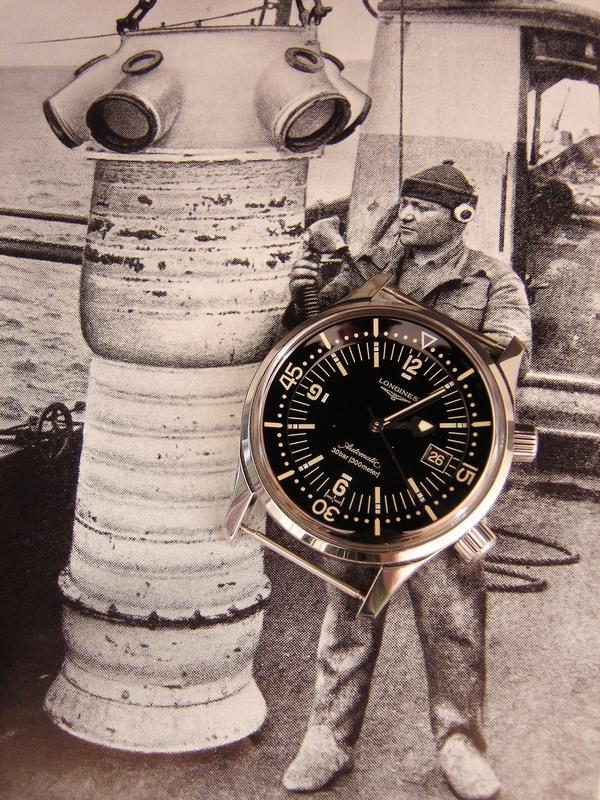 Longines - Longines Legend Diver Rtdsc019