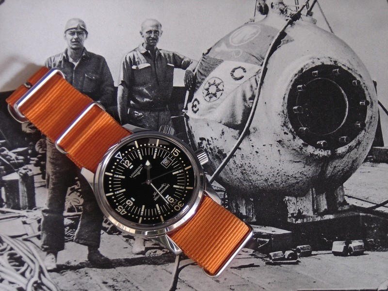 Longines - Longines Legend Diver Rtdsc020