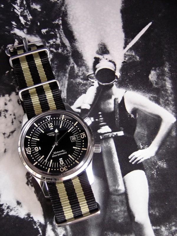Longines - Longines Legend Diver Rtdsc021