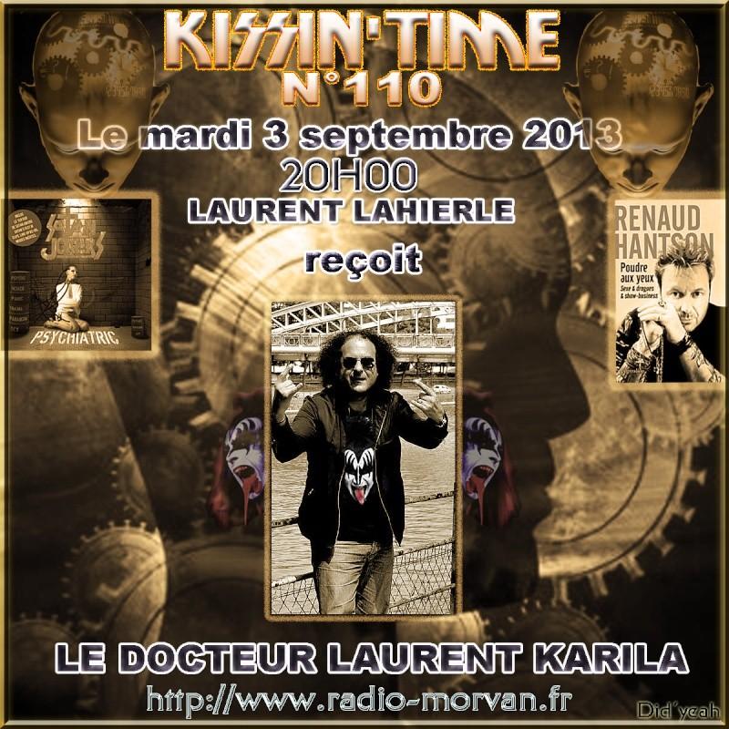 KISSIN'TIME 110 Laurent Karila. Lauren11