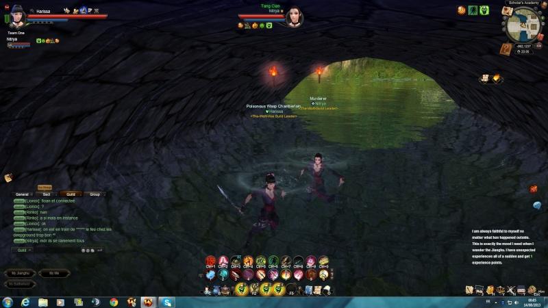 le duo de choc attack le chateau des deepground Attaqu10