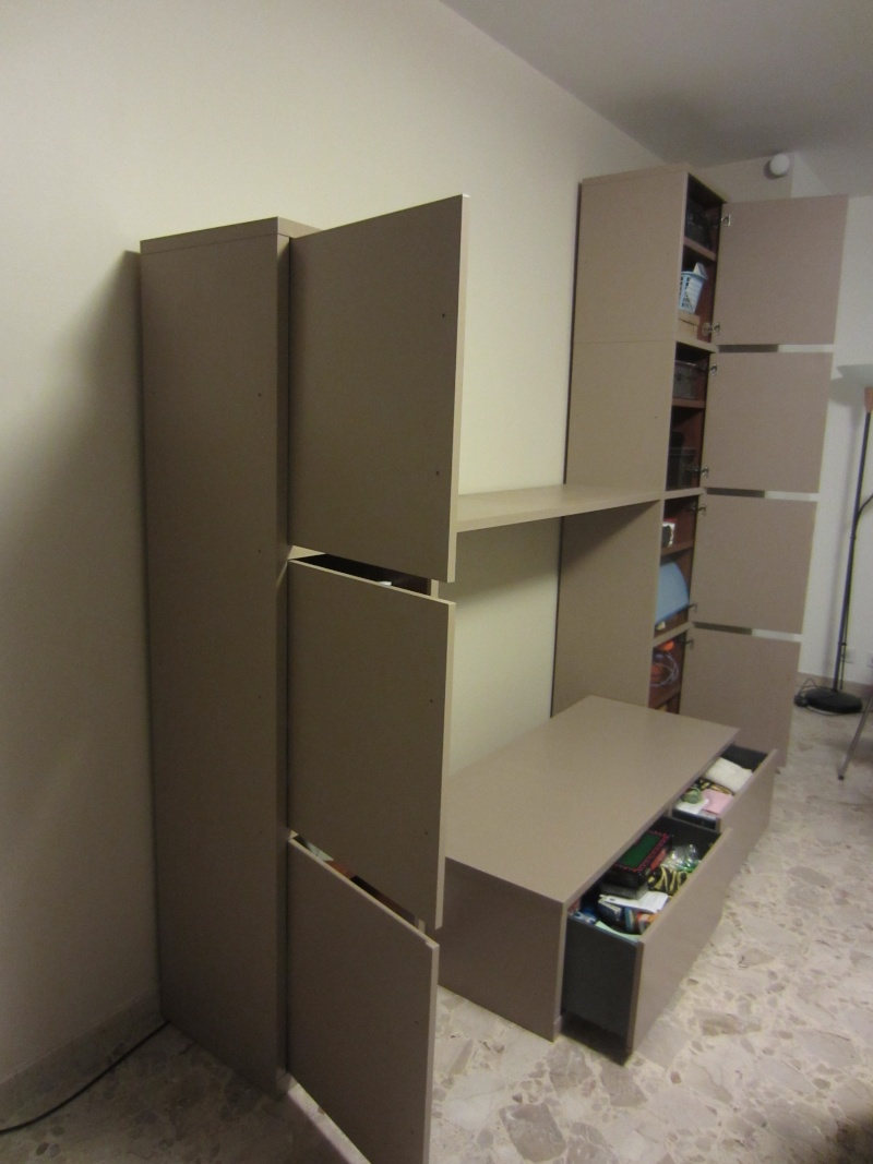 Peinture sur meuble IKEA, conseil de finition : vernis or not vernis ?- Premières photos Aout_211