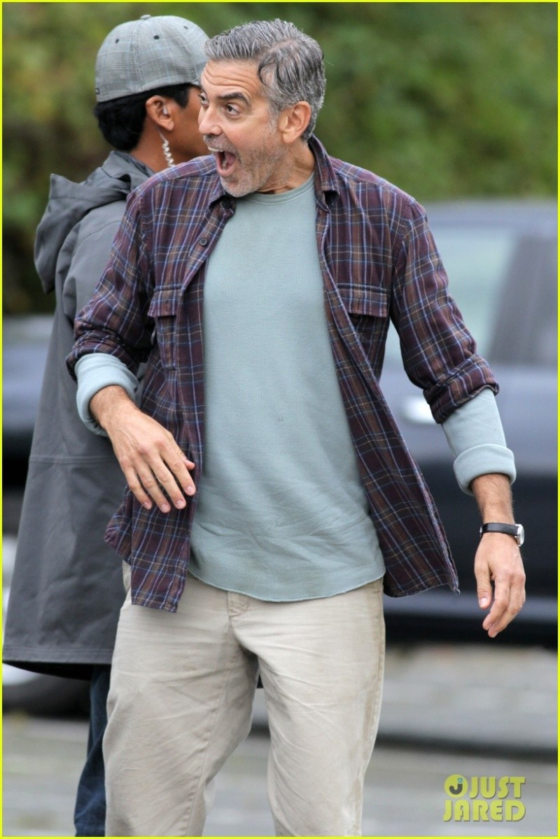 George Clooney on set of Tomorrowland C210