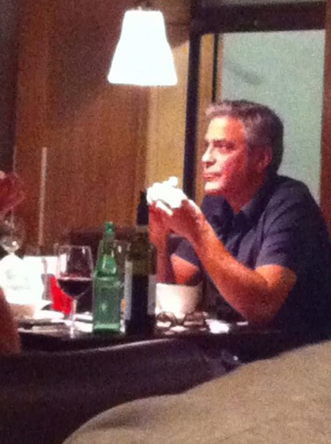 "George Clooney at ""The Rouvenaz"", Montreux, Wednesday 21st August 2013 Gg110"