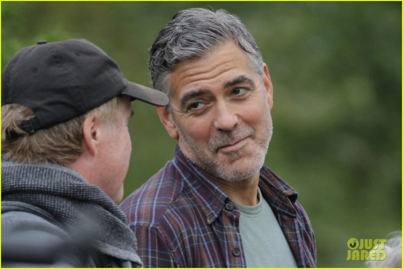George Clooney on set of Tomorrowland Ggg311