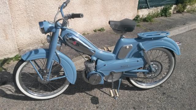Ma MOTOBECANE AV 88 de 1961 remise à neuf 20190410