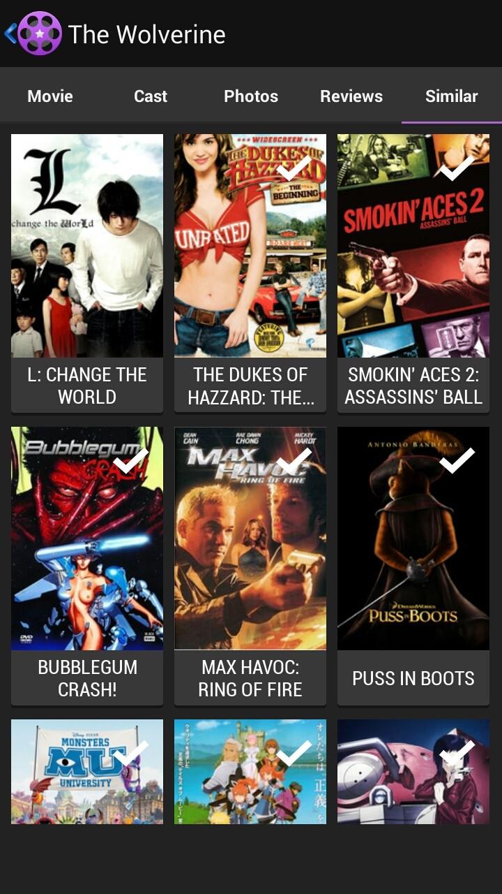 [SOFT] MOVIE ROLL : Des millions de films et de célébrités à découvrir | Interface fluide et moderne[Gratuit/Payant][14.08.2013] 2013_013