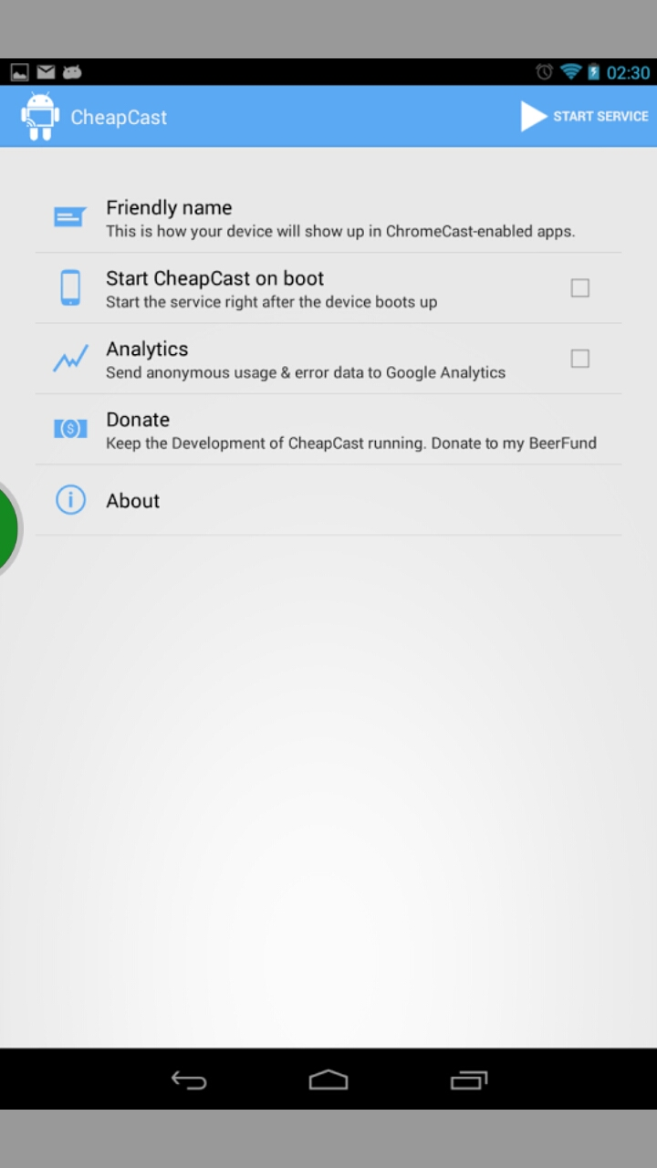 [SOFT] CHEAPCAST : Transformer son appareil Android en dongle ChromeCast [Gratuit][14.08.2013] 2013_017