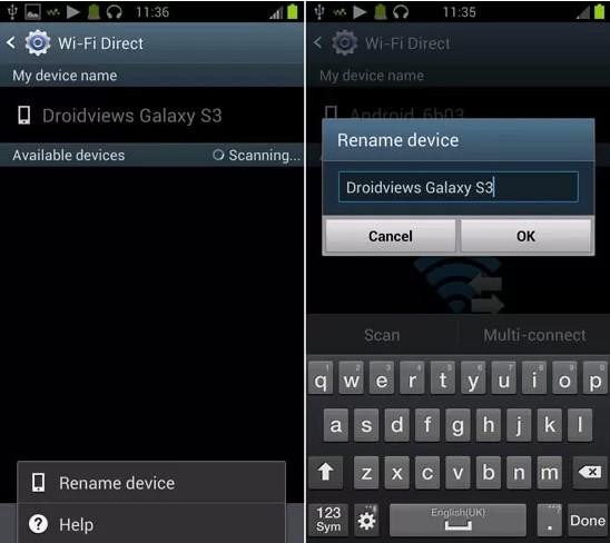 [TUTO][DEBUTANTS] Comment changer le nom de son appareil Android pour une connexion WiFi ou Bluetooth [23.09.2013] 410