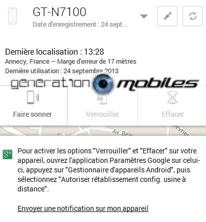 [TUTO] Comment utiliser Android Device Manager pour localiser, faire sonner, verrouiller et effacer votre téléphone à distance [24.09.2013] Screen19