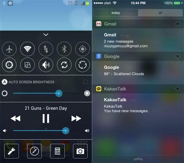 [THEME] Appliquer un look iOS7 sur votre page d'accueil et écran de verrouillage + panneau de notification et de contrôle [26.09.2013] Screen20