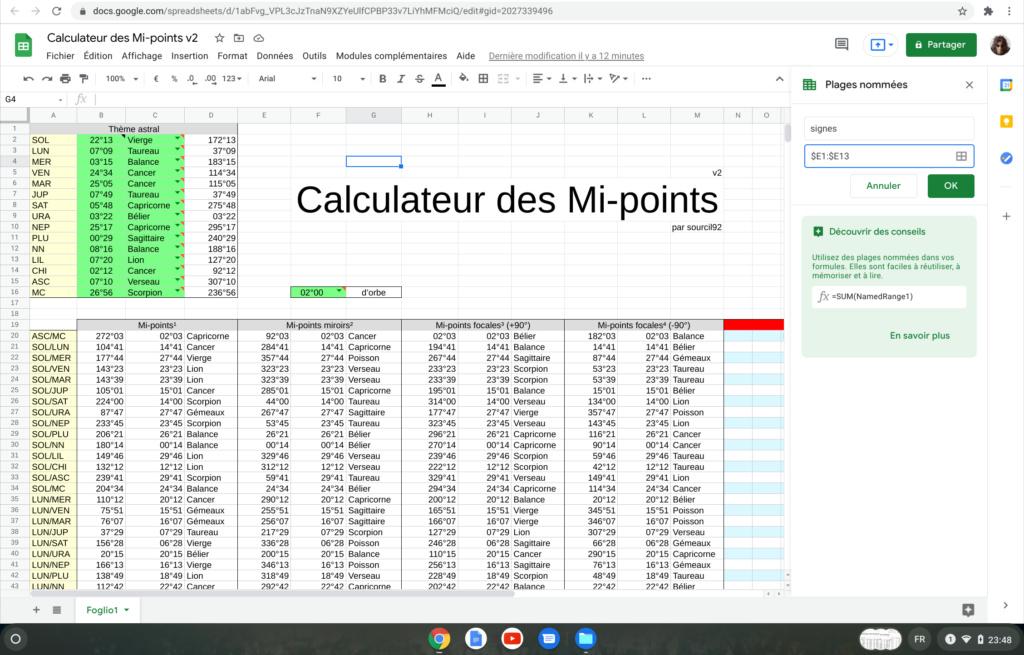 Calculateur des Mi-points Screen24