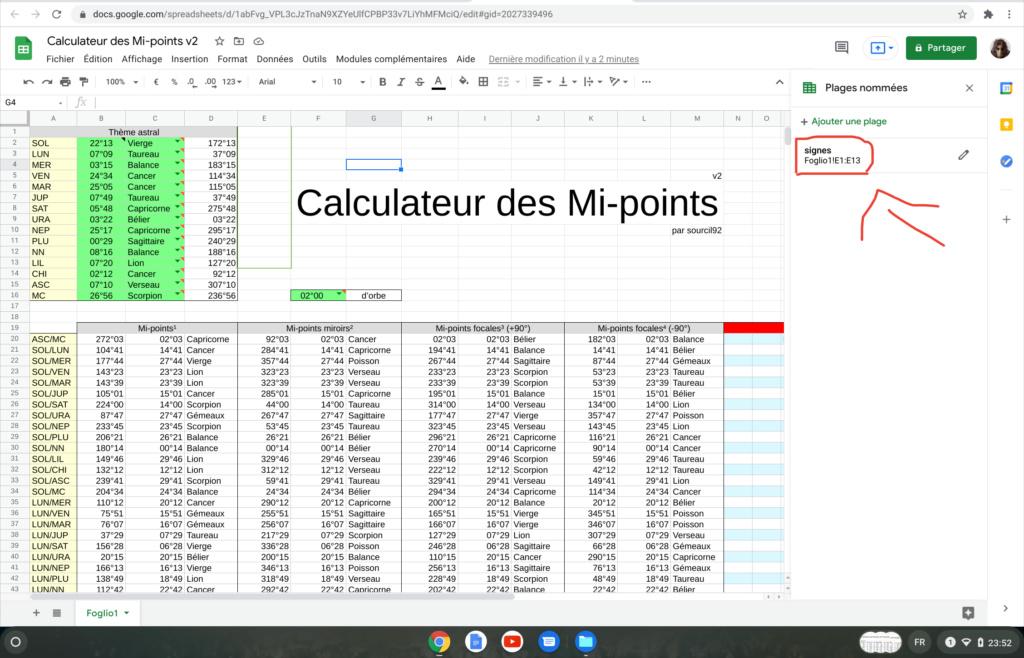 Calculateur des Mi-points Screen25