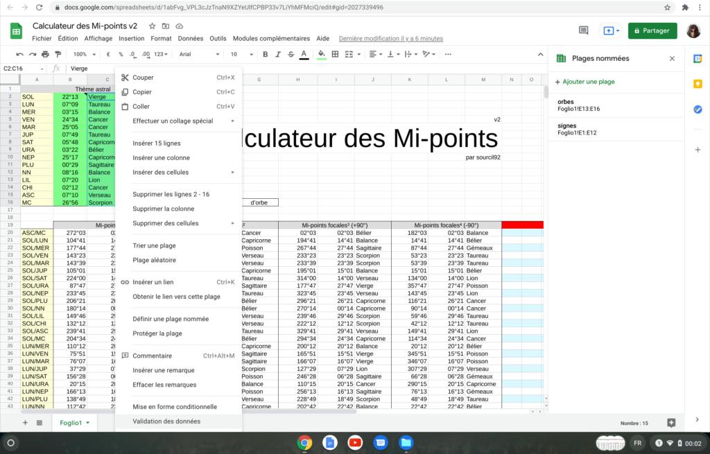 Calculateur des Mi-points Screen26