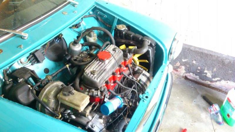 moteur 1100 volant moteur allegé plus culasse 29/33 preparé 10107210