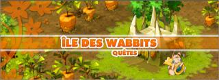 Quêtes de l'île des Wabbits