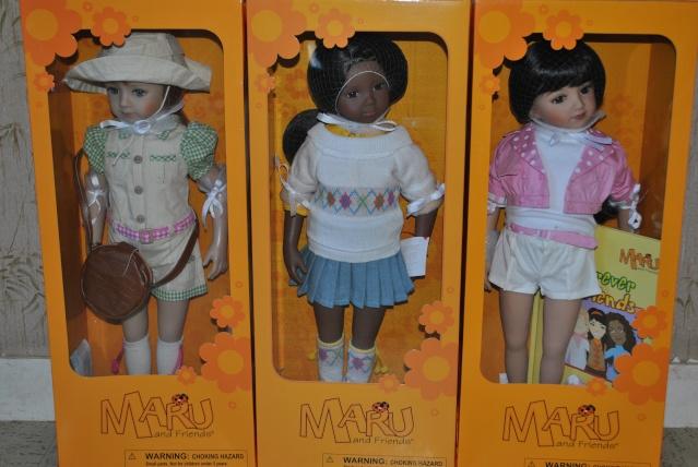 Maru and Friends : la grande famille (Moules Dianna Effner 52 cm) Dsc_0116