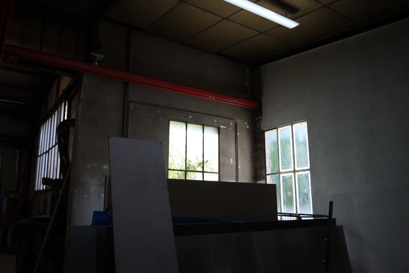 rènovation d'une partie de l'atelier avant l'arrivée d'une fraiseuse cnc P1010543