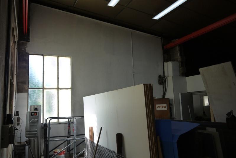 rènovation d'une partie de l'atelier avant l'arrivée d'une fraiseuse cnc P1010545