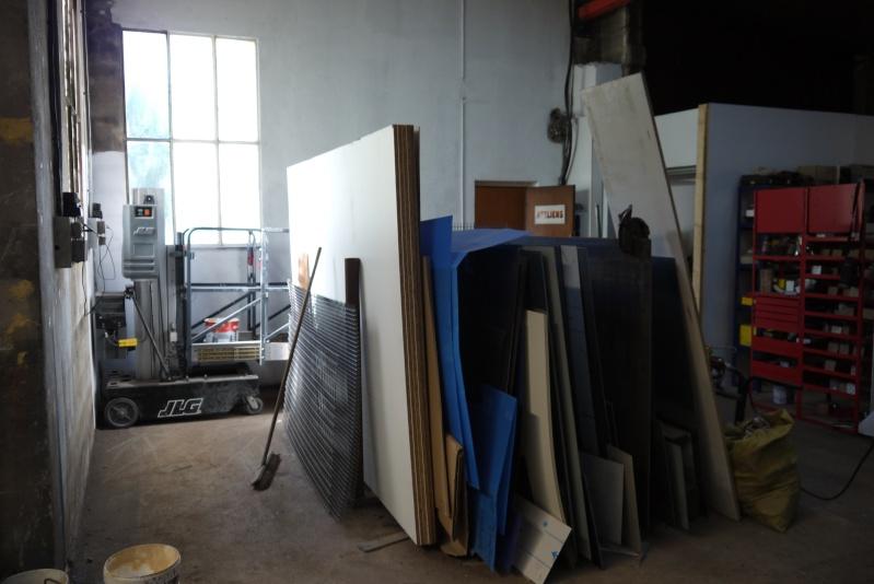 rènovation d'une partie de l'atelier avant l'arrivée d'une fraiseuse cnc P1010546