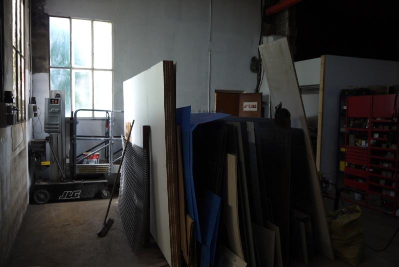 rènovation d'une partie de l'atelier avant l'arrivée d'une fraiseuse cnc P1010547