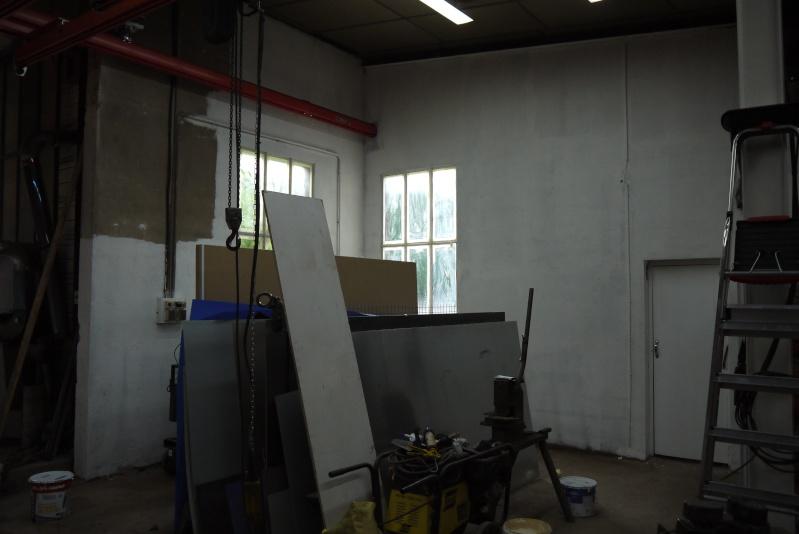 rènovation d'une partie de l'atelier avant l'arrivée d'une fraiseuse cnc P1010549