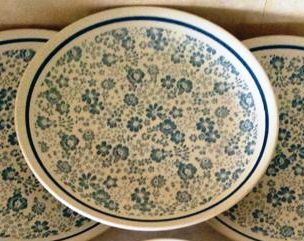 Pretty Blue Ironstone is Chintz Reverse d376 Blue_p10