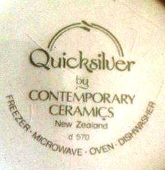 Contemporary Ceramics Quicksliver d 570 D570qu10