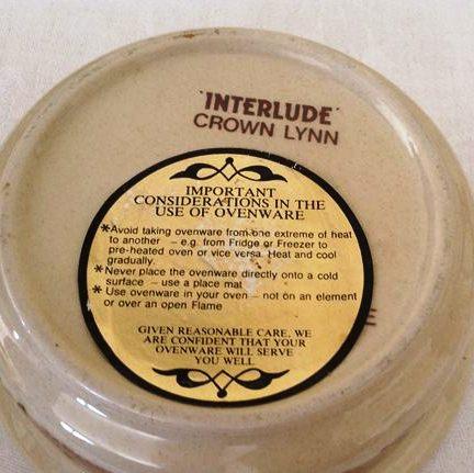Interlude cookware dish Interl11