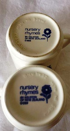 Nursery Rhymes Cups Nurscu12