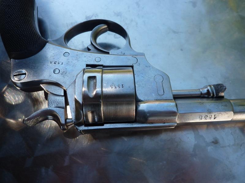 Revolver civil 1873.Barillet non cannele. P1000218