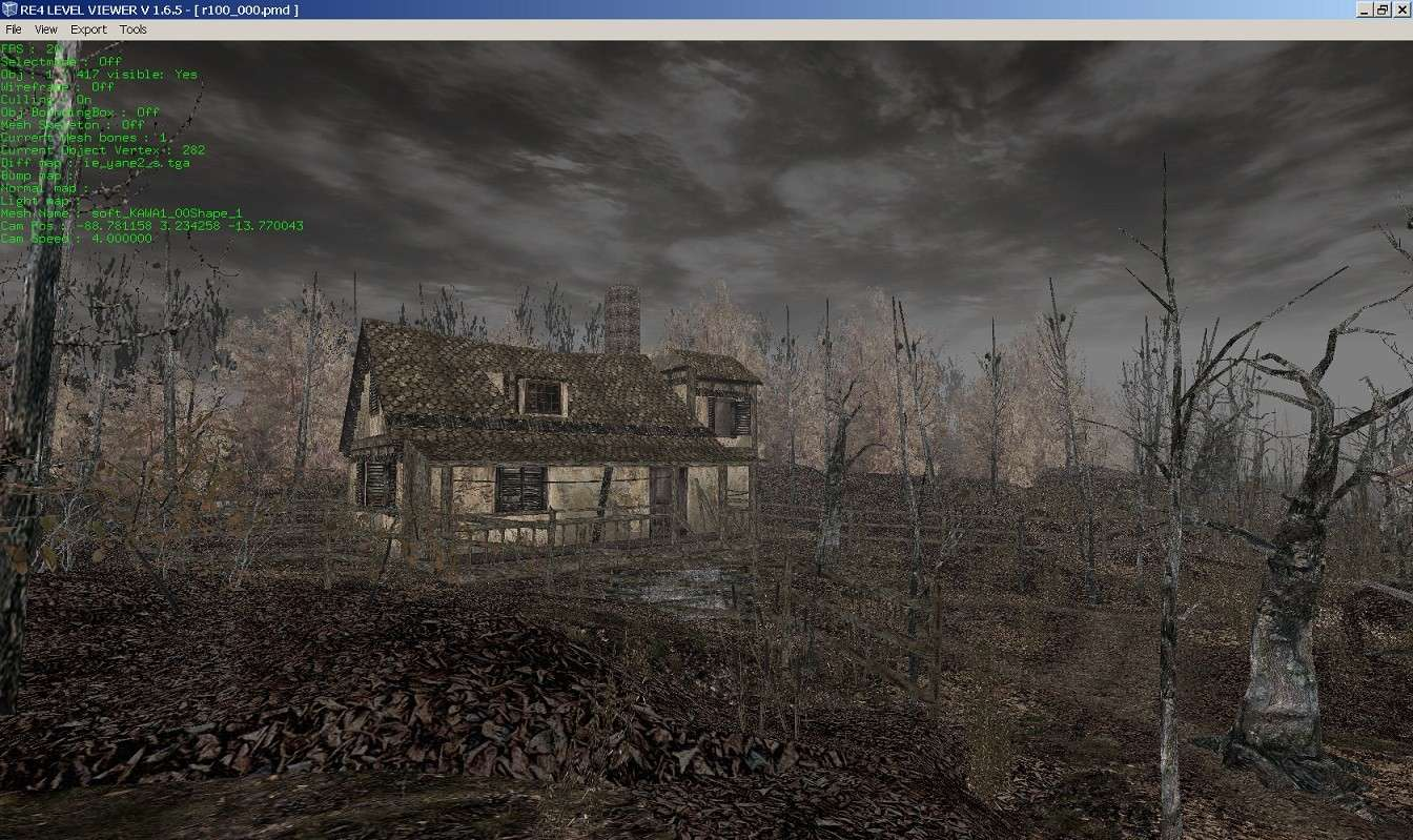 RE4 Level Viewer - visualiza los mapas de RE4 - v1650 & v1652 Re4_le10
