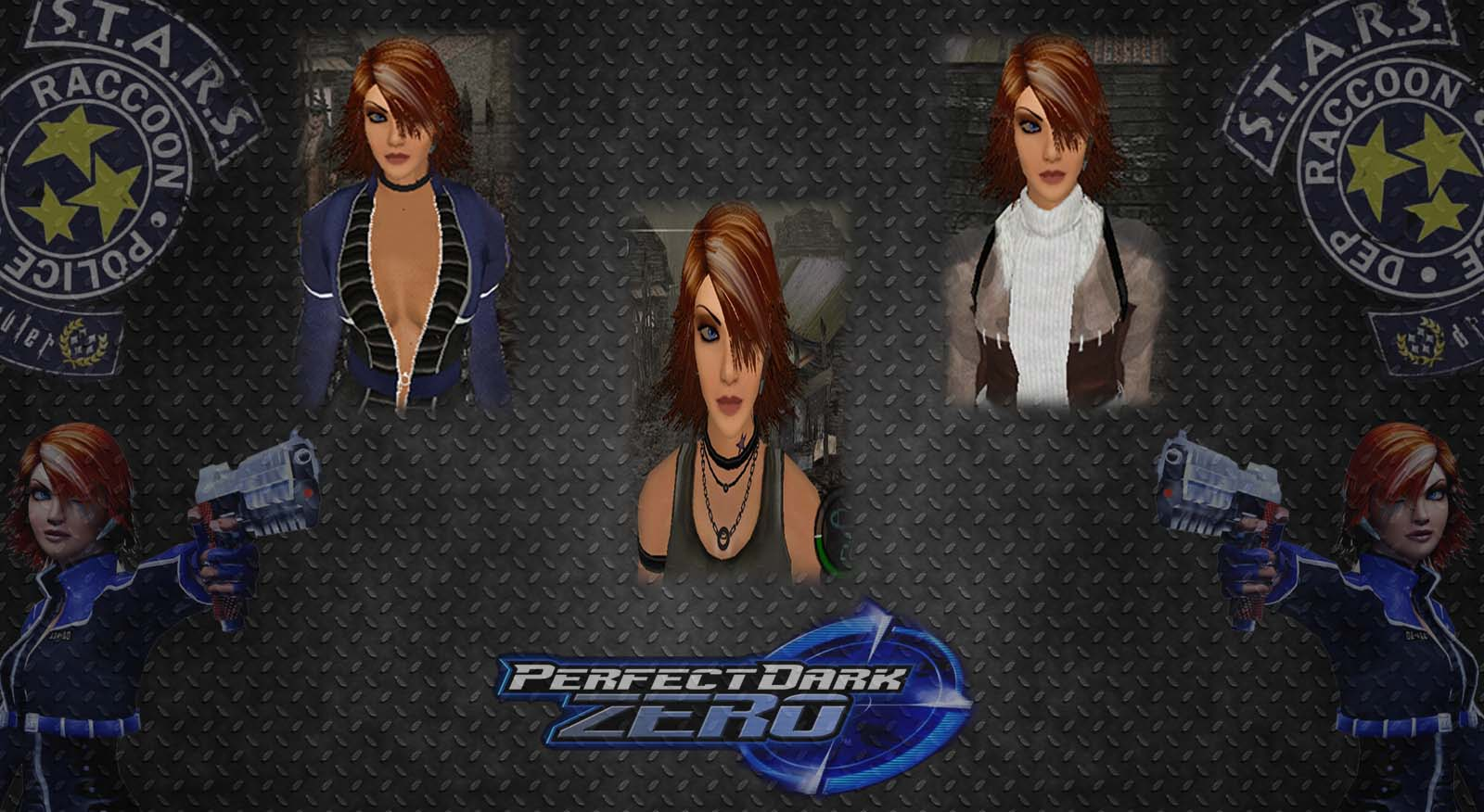 [OFFLINE] Joanna Dark Perfect Dark Zero Costume Pack Render11
