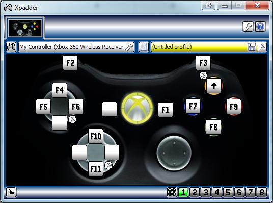 Jugar RE ORC con Mando XBOX 36O y cualquier otro Xpadde10